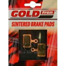 Serie pastiglie freno  GOLDFREN - 861AD without spring - compatibili (shimano K02 - 305/405/505/805/5000/9170)