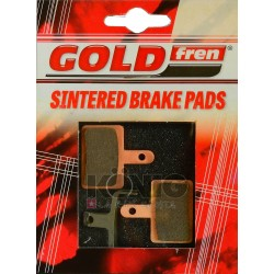 Serie pastiglie freno  GOLDFREN - 813DS with spring - (shimano B01 - 445/446/475/501/515/525/601)