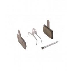 Serie pastiglie freno  SHIMANO B01S (M575/M495/M486/M485/M446) resina, con molla, sciolte