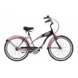 "Cicli Panther CRUISER ""Secret Vamp"" Donna, 3v Nexus, T. 48, Lipstick/Black"