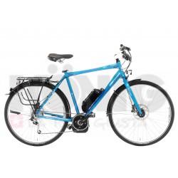 "Cicli Panther E-Bike 28""-""TE-9T"", Bosch, Bo-U, T. 53, XT 9v, Skyblue"