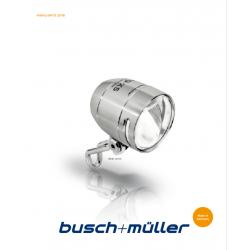 Aggiornamento Catalogo Busch + Müller 2018-9 IQ Series Tedesco