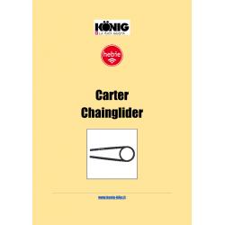 Raccolta Tecnica Carter ChainGlider Hebie Tedesco-Inglese