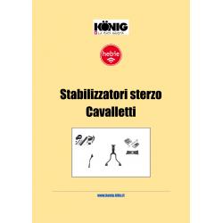 Raccolta Tecnica stabilizzatori sterzo e cavalletti Hebie Tedesco-Inglese