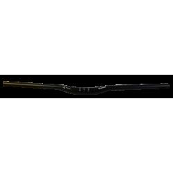 Pieghe Tranz-X MTB H.15 Alluminio, L. 780mm, Oversize, S.B.Black