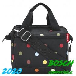"""Borsa RK ant. c/a Klickfix 4,0 L. """"ROOMY"""", dim.24x22x13, dots, Bosch"""