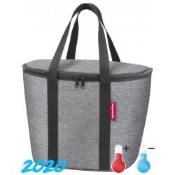 "Borsa RK isolante x cesto ant. ""ISO BASKET BAG"", 34x26x25, twist silver"