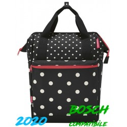 "Borsa RK post. laterale 12,0 L. ""ROOMY GT"", 40x25x17, vario e haken, mixed dots"