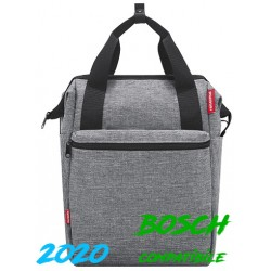 "Borsa RK post. laterale 12,0 L. ""ROOMY GT"", 40x25x17, vario e haken, twist silver"