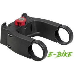 Adattatore Klickfix  per pieghe universal. 25.4-31.8mm. display Bosch. con chiave