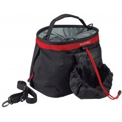 "Cesto RK ant. s/a ""LIGHT BAG"", 4L, dim.25x20x16, black/red"