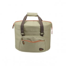"Cesto RK ant. s/a ""SHOPPER FASHION"". 21L. dim.38x25x27. beige"