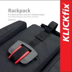Easy flyer KLICKfix borse compatibili Rackpack Tedesco-Inglese