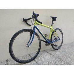 """Esempio di Gravel bike, realizzato con il telaio grezzo da Trekking Konig (ruote da 28"""")"""