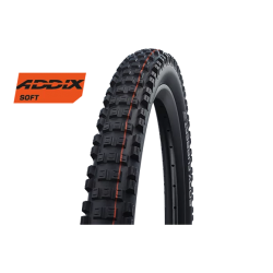 "Cop. Schwalbe Pieg. 27.5"" (65 584)-(27.5x2.60) Eddy Current Rear. HS497. SG. TL-Easy. Addix Soft. black"