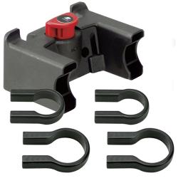 Adattatore Klickfix  per pieghe universal. 25.4-31.8mm. con chiave