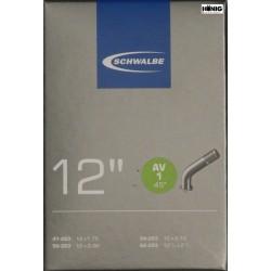 Camere Schwalbe 12 1/2 x 1.75 / 2 1/4 (AV 1 - 45°)
