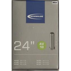 Camere Schwalbe 24 x 1.75 / 2.50 (AV 10)