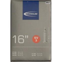 Camere Schwalbe 16 x  1.75/2.50 (SV 3)