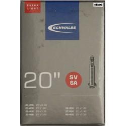 "Camere Schwalbe 20""  (23/40 406) SV 6A, Extra light"