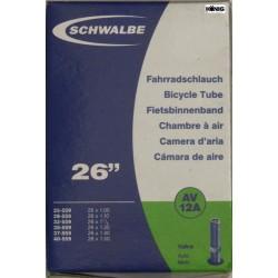 Camere Schwalbe 26 x  1.10 / 1.50  (AV 12A)