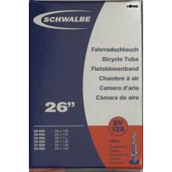 Camere Schwalbe 26 x  1.10 / 1.50  (SV 12A)