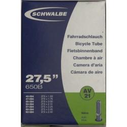 Camere Schwalbe 27.5 x 1.50 / 2.40 (AV 21)