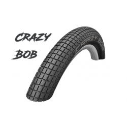 "Cop. Schwalbe 20""   (54 406)-(20x2.10) Crazy Bob, HS356, performance, Addix, Twin, black"