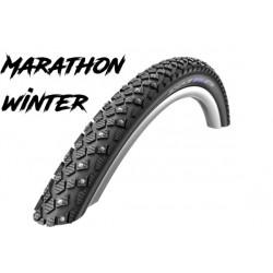 """Cop. Schwalbe 24""""  (47 507)-(24x1.75) Marathon Winter HS396, RG, Winter, Twin, Reflex"""