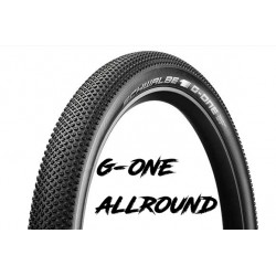 "Cop. Schwalbe Pieg. 29"" (57 622)-(28x2.25)  G-One Allround, HS468, SS, TL-Easy, OSC, Black"