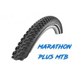 "Cop. Schwalbe 26""  (57 559)-(26x2.25) Marathon Plus MTB HS468, SGuard, Dual, Twin, E-50, Reflex"