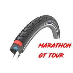 """Cop. Schwalbe 28""""  (47 622)-(28x1.75) Marathon GT Tour, HS485, DualGuard, EC, E-50, Reflex"""