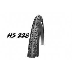 "Cop. Schwalbe 24"" (25 540)-(24x1.00) Cruiser HS 228, KG, GRC, twin, Grey/Black"