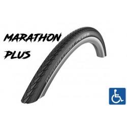 "Cop. Schwalbe 24"" (25 540)-(24x1.00) Marathon Plus HS440, SmartGuard, BnR, Twin, black"