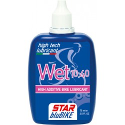 Lubrificante Star BluBike liquido, WET, 75ml.