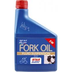Olio forcelle Star BluBike, Semi-Sintetico,   5W, 500 ml