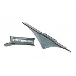 Set plastica trasparente, protezione e supporto finale per carter alluminio 392 e 394