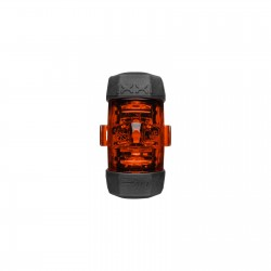 "Fanalino B+M, a batteria, al reggisella, ""IXXI"", range light 320°, 35gr."