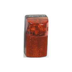 """Fanalino B+M, a batteria, al telaio, """"RedLite D"""", con catadiotro, al reggisella/telaio"""