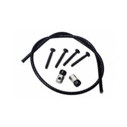 Set KlickFix per attacco al manubrio (1 cavo+ 4 viti+ 2 morsetti)