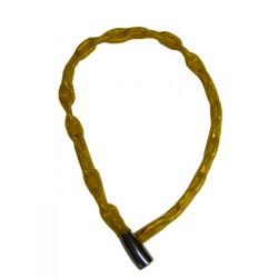 Lucchetto catena,  incorp., Abus, ø4 L 600, giallo