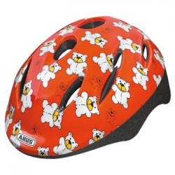 "Casco Abus ""Smooty Teddy Orange"", size S, 45-50cm"