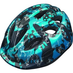 "Casco Abus ""Smiley Robot Blue"", size M, 50-55cm"