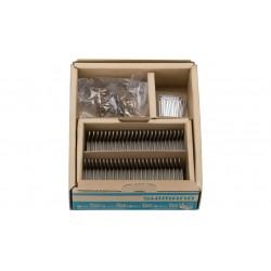 Serie pastiglie freno  SHIMANO A01S (M775/M595/…..) conf. Officina