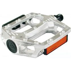 P. Pedali BMX Alluminio Silver perno fino