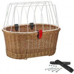 "Cesto RK post. ""DOGGY BASKET"". dim.52x46x36. sistema FIX"
