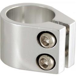 Collarini sella BMX, allumino, d. 31,8, silver