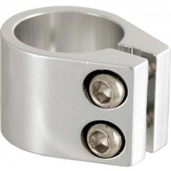 Collarini sella BMX, allumino, d. 28,6, silver