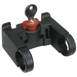 Adattatore Klickfix  per pieghe standard. 25.4mm. con chiave