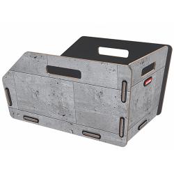 "Cesto RK post. ""RADKISTE 1"". 19L. dim.43x24x28.5. sistema GTA. Beton"